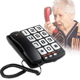 Téléphone à Touches Larges TopCom Sologic T101