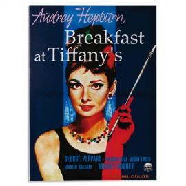 Affiche de Ciné Audrey Hepburn Breakfast at Tiffany's