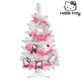Sapin de Noël Hello Kitty avec Décorations