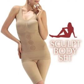 Set de Sous-Vêtements Gainants Sculpt Body (3 pièces)