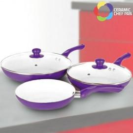 Poêles Ceramic Chef Pan (5 Pièces)