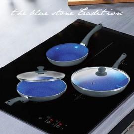 Poêles Revêtement Pierre Blue Stone Pan (5 Pièces)