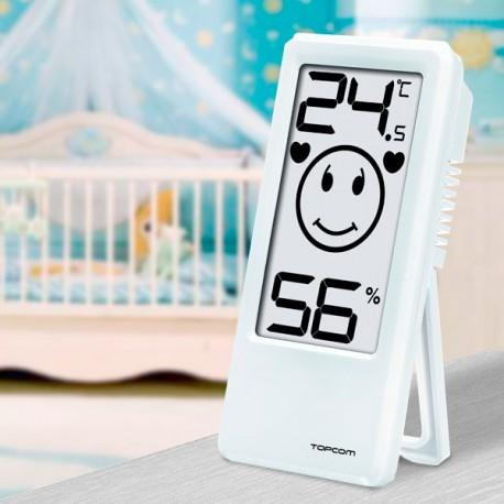Thermomètre-Hygromètre d'Intérieur TopCom TH4675