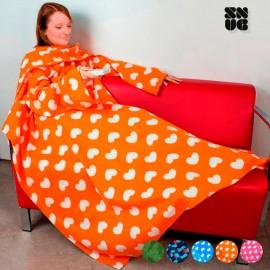 OUTLET Couverture à Manches Adultes Snug Snug Extra Douce Designs Originaux (Sans emballage )