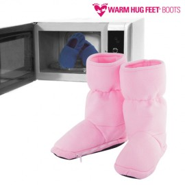 OUTLET Bottes Réchauffables Micro Ondes Warm Hug Feet (Sans emballage )