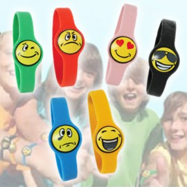 Bracelets Silicone Funny Face