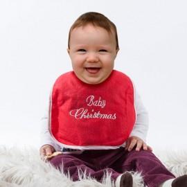 Bavoir pour Bébé Baby Christmas
