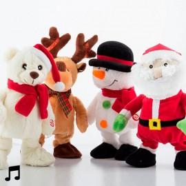 Poupée de Noël qui Chante et qui Danse