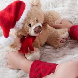 Petit Ours en Peluche de Noël