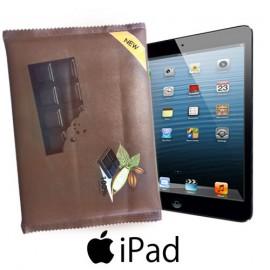 Coque iPad Chocolat