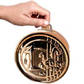 Tirelire Céramique Pièce Euro