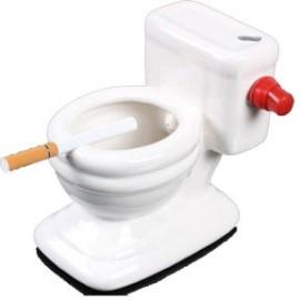 Cendrier en Céramique en forme de WC
