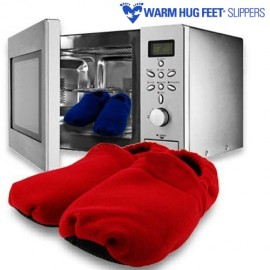 OUTLET Chaussons Microonde Warm Hug Feet (Sans emballage )
