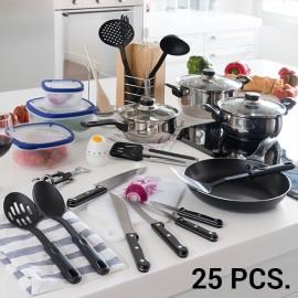 Set d'Accessoires de Cuisine (25 pièces)