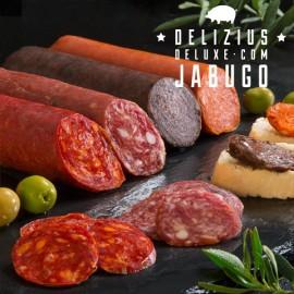 Charcuterie Ibérique Delizius Deluxe 1 kg (pack de 4)