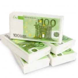 Serviettes Billet de 100€
