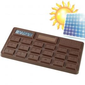 Calculatrice Solaire Tablette de Chocolat 11 x 6