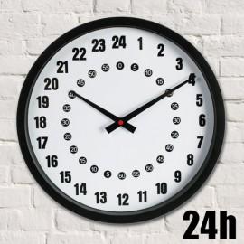 Horloge Murale Analogique 24 h