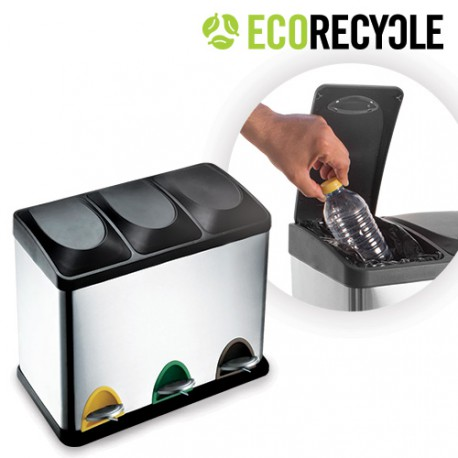 Poubelle Tri Eco Recycle