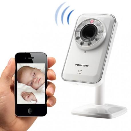 Caméra IP Sans Fil Android & iOs TopCom NS6750
