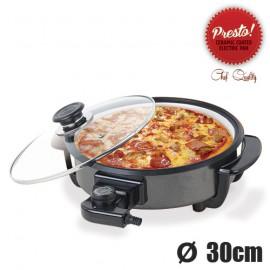 Pizza Pan Poêle Électrique Céramique Presto Pan 30 cm