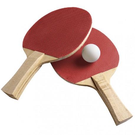 Set Ping Pong (2 Raquettes + 3 Balles)