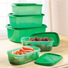 Récipients en Plastique pour Aliments Always Fresh Food (5 pièces)