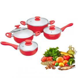 Jeu de Cuisine Ceramic Pan 8 Pièces
