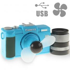 Ventilateur en Forme d'Appareil Photo (USB et Piles)