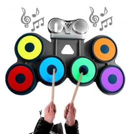 Batterie Musicale en Silicone