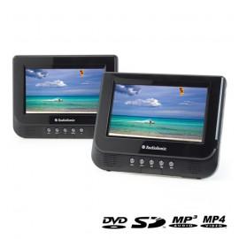 Double Lecteur DVD Portable 7'' AudioSonic DV1823