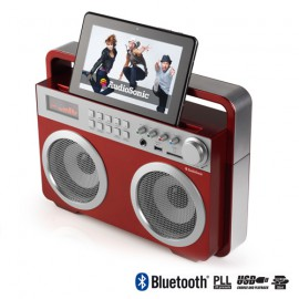 Radio Vintage MP3 Bluetooth AudioSonic RD1558