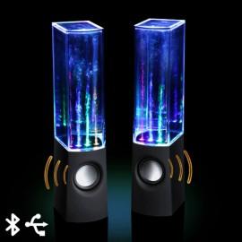 Hauts-Parleurs à Eau LED USB